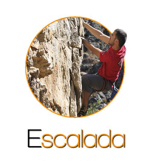 escalada turismo activo en Huelva, Sevilla Andalucia